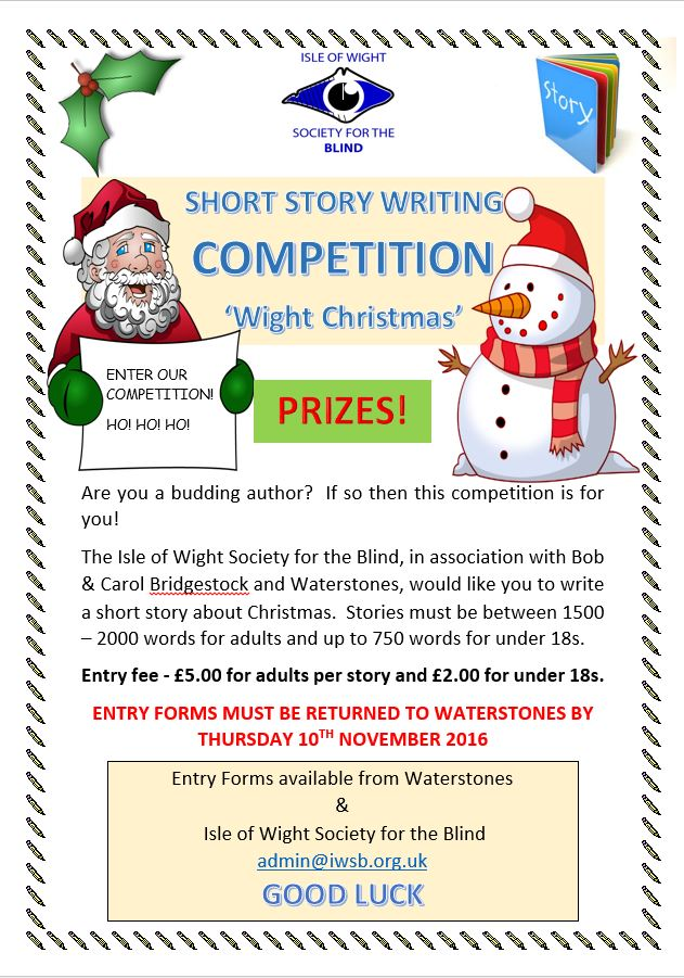 Short Story Writing Competition Poster