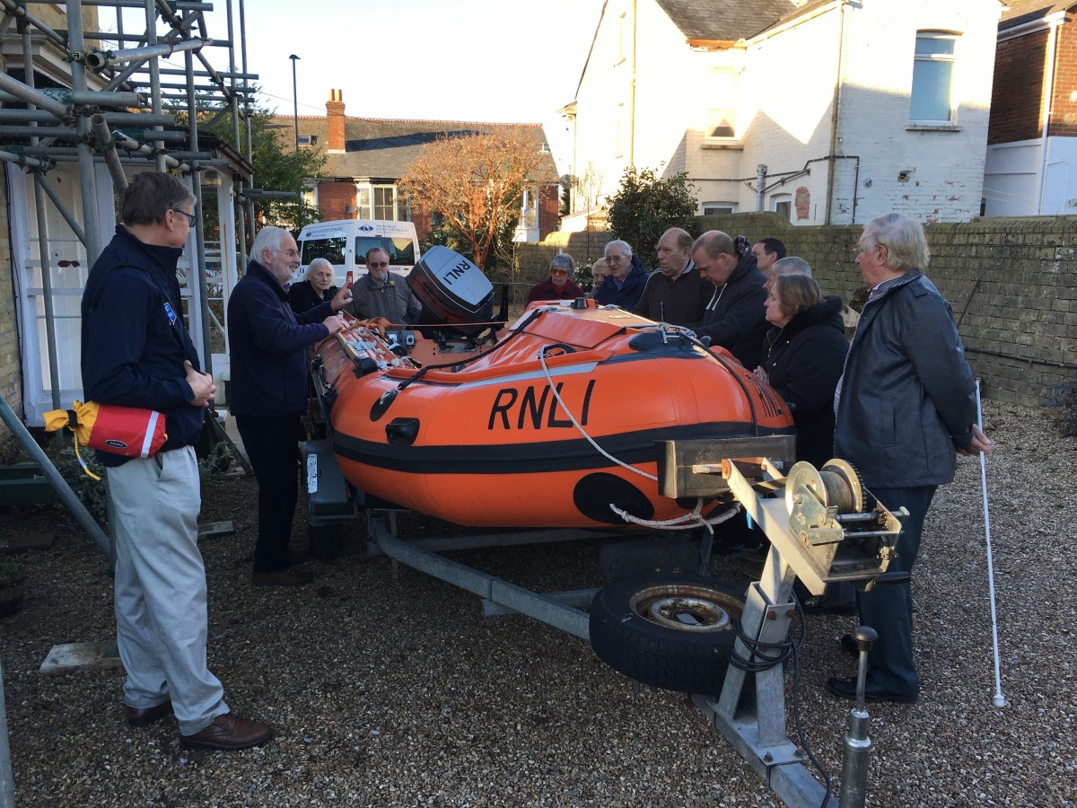 OWLS Group with RNLI