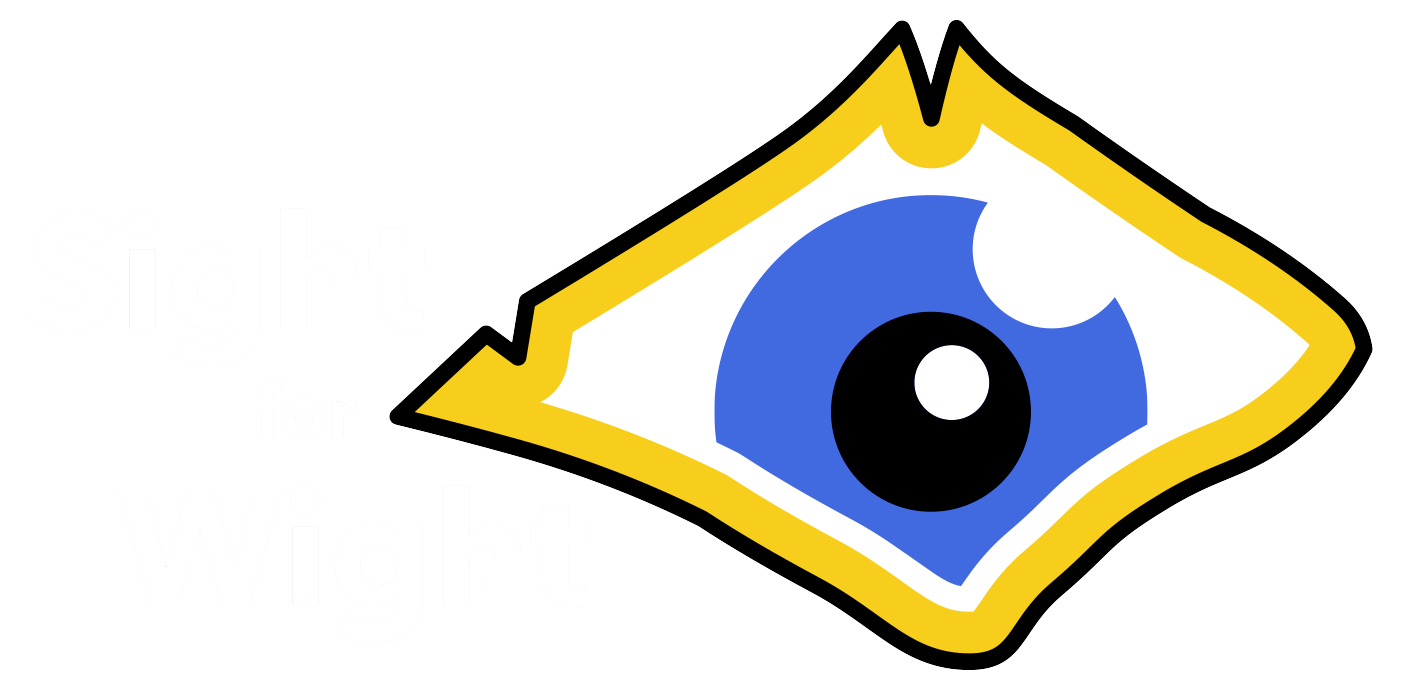 A picture of the Sight for Wight logo.