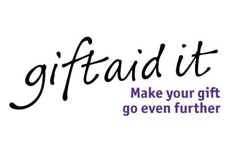 A picture of the gift aid it logo.