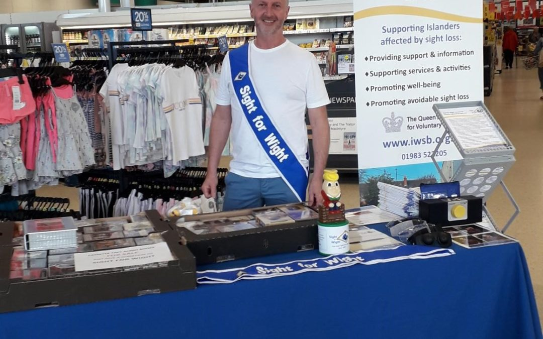 Sight for Wight Awareness Day at TESCO