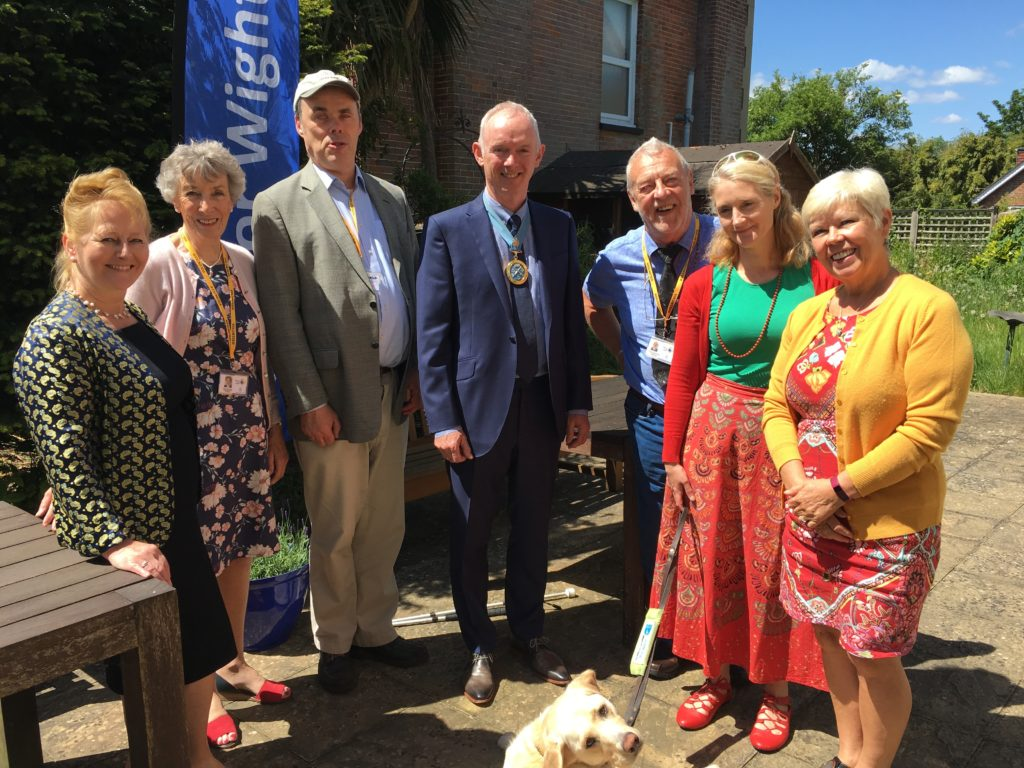 The High Sheriff with Sight for Wight Trustees and CEO