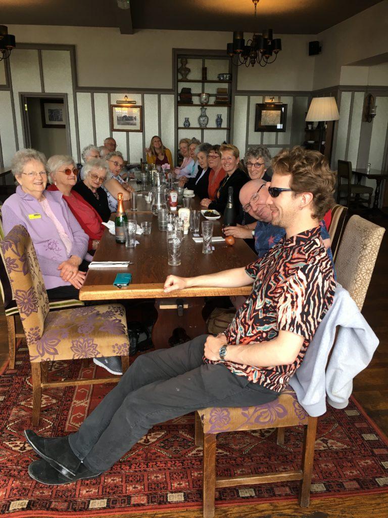 Members at Ryde Castle