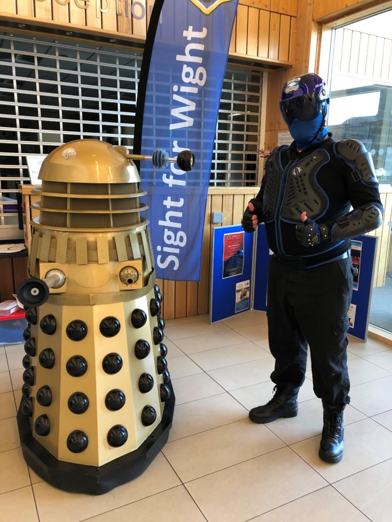 Dalek and Wight Knight