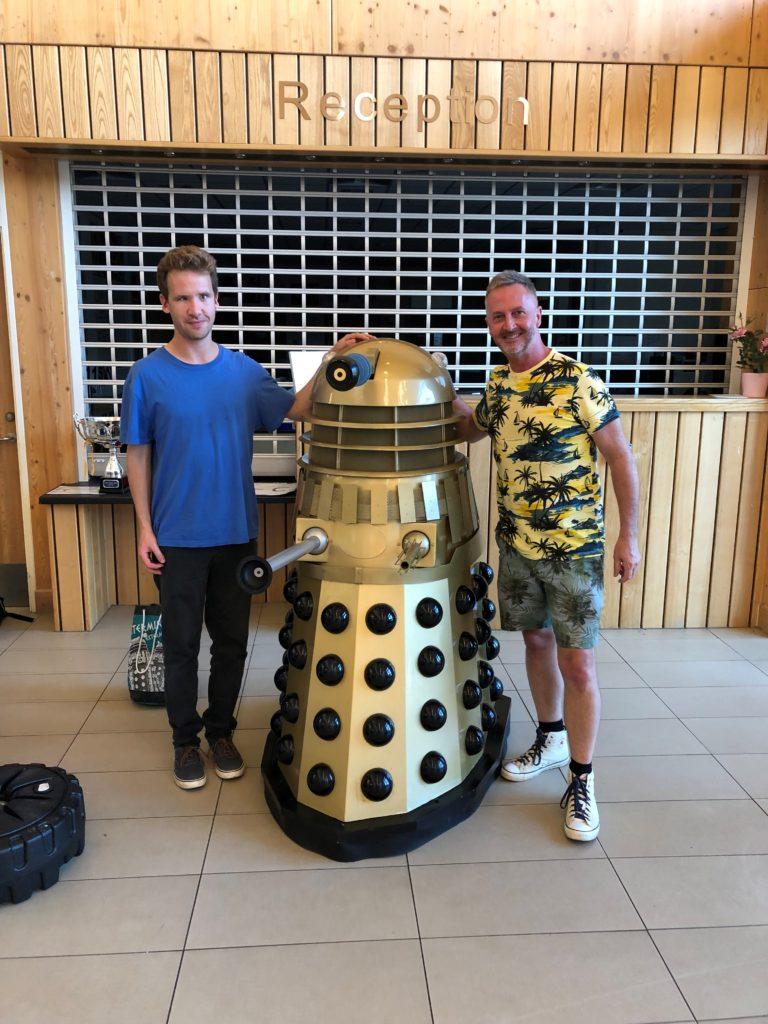 Matt, Dalek & Chris