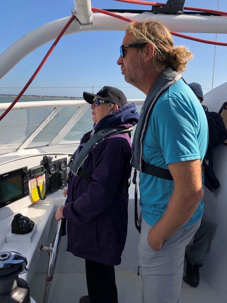 Member sailing