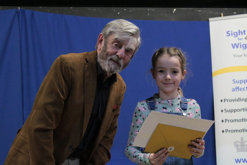 Runner up Claudia Summers with Melvyn Hayes