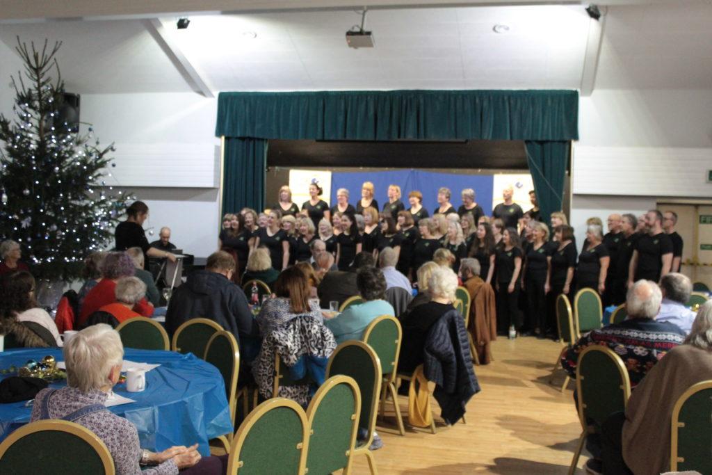 Medina Community Choir sing
