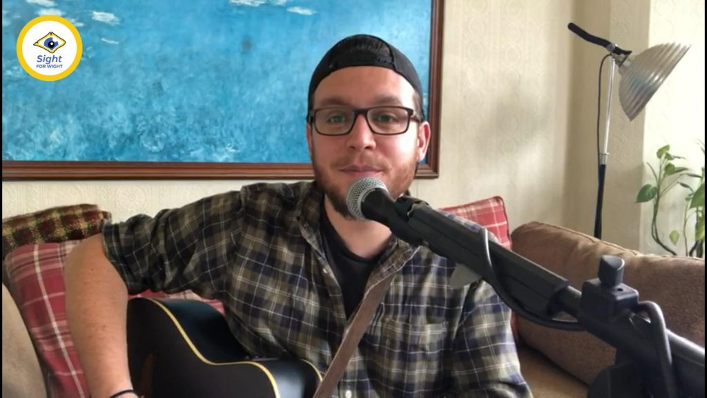 Ben Stubbs sang some a variety of classic songs