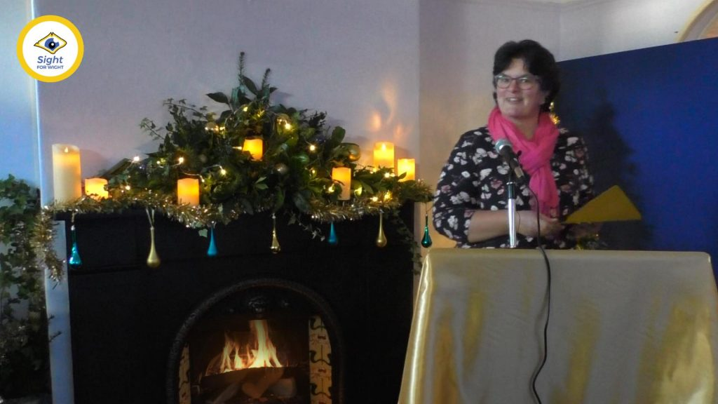 Susan Early (Volunteers & Members Manager) announces the 18+ winners